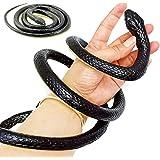 Liuer 130cm Nep Slang Speelgoed Realistisch Rubberen Slang Speelgoed Tuin Rekwisieten Grap Cadeau Slang Simulatie Rubberen Di