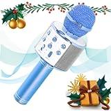 SaponinTree Microfono Karaoke Bluetooth, Wireless Bambini Portatile Karaoke Microfono con Altoparlante per Cantare…