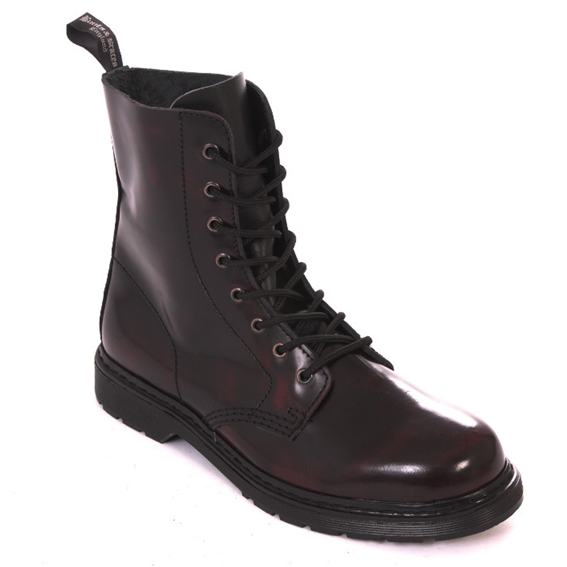 In 8 Burgundy Loch Braces Eu Springer Easy Rangers Bootsamp; Made Stiefel Rot mN8n0Ovw