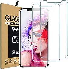 Vproof iPhone XS Max Panzerglas Schutzfolie (2 Stücke), [3D Touch] [Ultra Clear] [Schutzhüllen-Freundlich] [Anti-Kratzen] [Blasenfrei] Displayschutzfolie mit Ausrichtungsrahmen für Apple iPhone Xs Max 6.5-Zoll (2018)
