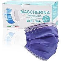 Medizinische Masken bunt,50 Stück,3-lagig Einwegmasken,CE Zertifiziert typ IIR,op Masken für Erwachsene,Effektiver Mund…
