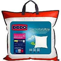 UNIVERS-DECOR Lot de 2 oreillers Maxiconfort Thermolite Ultra Dodo (Blanc, Lot de 2 oreillers Maxiconfort Dodo 50 x 70…