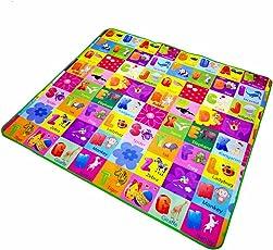 Kids Crawling gioco educativo giochi, 2lato in schiuma morbida grandi dimensioni tappeto da picnic, 120* 180cm 150* 180cm 200* 180cm