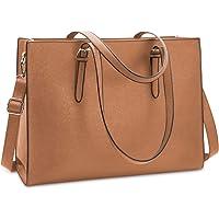 NUBILY Handtasche Shopper Damen Große Schwarz Handtasche Leder Umhängetasche Arbeitstasche Gross Laptop Business Schule…