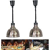 Lampe Chauffe-Plats, Lampe Chauffante Rétractable Portable pour Aliments, Accueil Cuisine/Commercial, Multifonction…