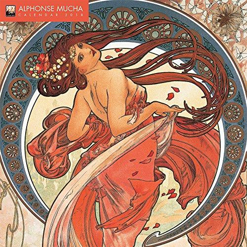 Alphonse Mucha Wall Calendar 2018 (Art Calendar) par Flame Tree Publishing