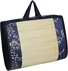 "Kala Darshan Crafts Bazaar Eco - Friendly Sleeping Mat- 121X182""Dark Blue"""