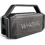 60W RMS (80W piek) Bluetooth-luidspreker met punch Chunky Bass, V5.0 draagbaar, IPX6 waterdicht draadloos, 40H speeltijd, 120
