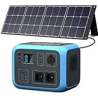 PowerOak Bluetti Portable Power Station AC50S 500Wh 300W Solargenerator Sinuswellen-Wireless-Lade-Notfall-Lithium…