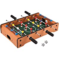 FunBlast Mini Football Game for Kids   Table Soccer Game with 4 Rod and 2 Ball Toy for Kids - 14 Inch
