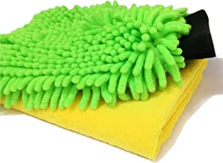 Sobby Microfiber Cleaning Cloths 2 In 1 Combo For Car Care