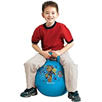 Inflatable Sit and Bounce Rubber Bubble Hop Ball for Kids. Hopper Jump N Bounce Handle Ride-on Toy Bouncy for Kids…