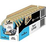 Sheba Adult Katzen-/Nassfutter, für erwachsene Katzen Sauce Lover, 22 Schalen (22 x 85 g)