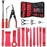 MATCC 19pcs Car Trim Removal Tool Auto Door Panel Removal Tool Set with Clip Plier Set & Fastener Remover Audio Radio…