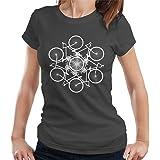 Cloud City 7 Cycling Fusion Women's T-Shirt