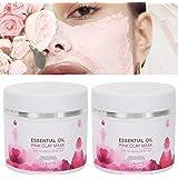 Kleimasker, diepreinigend gezichtsmasker, 50 g x 2 stuks Kleimasker Exfoliërend gezichtsmasker Diepe reiniging Hydraterende v