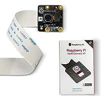 LABISTS Raspberry Pi Camera Module V2 8M Noir, 1080p RPi Camera Officielle avec IMX219 Sensor, Nappe 15cm et 65° Angle de Vue, Pi Noir Camera V2 Compatible avec Rasbperry Pi, Arduino et Jetson Nano
