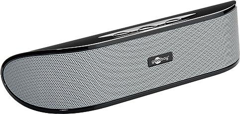 Goobay SoundBar 6W Stereo Lautsprecher für PC, TV und Notebook, schwarz