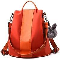 Charmore Zaino da Donna Antifurto Borse Nylon impermeabile Daypack Spalla per Viaggio Lavoro Scuola