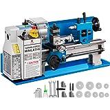 VEVOR 550 W minimetallsvarv precisionssvmaskin 7 x 14 tum minisvarv 2 500 rpm mini-metallsvarv med variabel hastighet