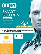 Eset Smart Security Premium - 1 User, 1 Year (Email Delivery in 2 hours- No CD)