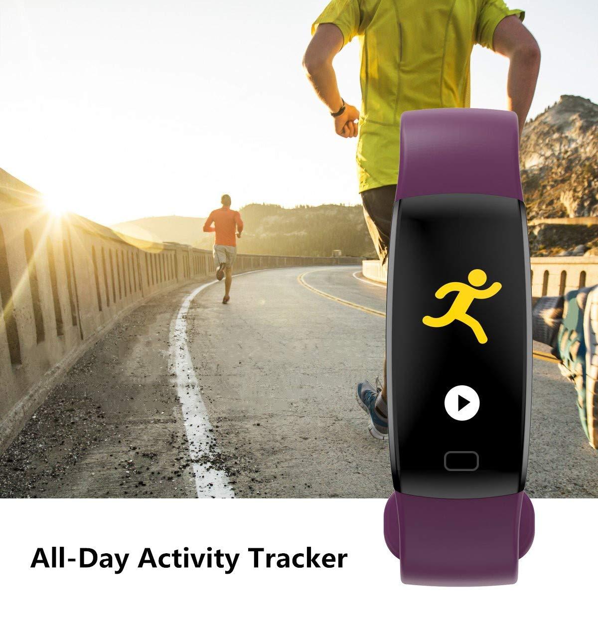 WitMoving Fitness Trackers IP68 - Reloj de Pulsera de Actividad con Contador de calorías y Pasos, podómetro, para niños… 2