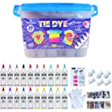 WINSONS Tie Dye Kit, 20 Colours Non Toxic Permanent Fabric Dye Art Set for Kids Women for Homemade Party Creative Group Activ