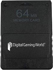 Digital Gaming World 64-MB Memory Card for PS-2 (Grade-1) (DGW64MBMCARD)