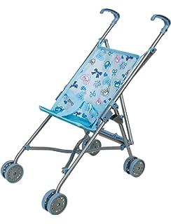 Bayer Design 3013401 Puppen Buggy, blau: : Spielzeug