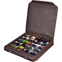 Sunglass,goggles,eyewear, 10pcs Leather Box case cover zipper dubba (make in india)