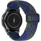 MroTech Armband kompatibelt med Samsung Gear S3 Frontier/Classic klockarmband 22 mm sportband ersättningsarmband för Galaxy W