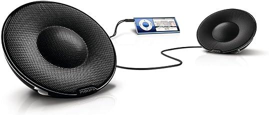 Philips SBP1120 Passiv Stereo Lautsprecher System