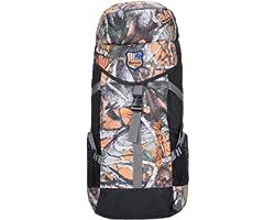 Impulse Gear up 50 L Water Resistant Rucksack Hiking Backpack/Bag for Trekking/Camping/Travel/Outdoor Sport(Orange)