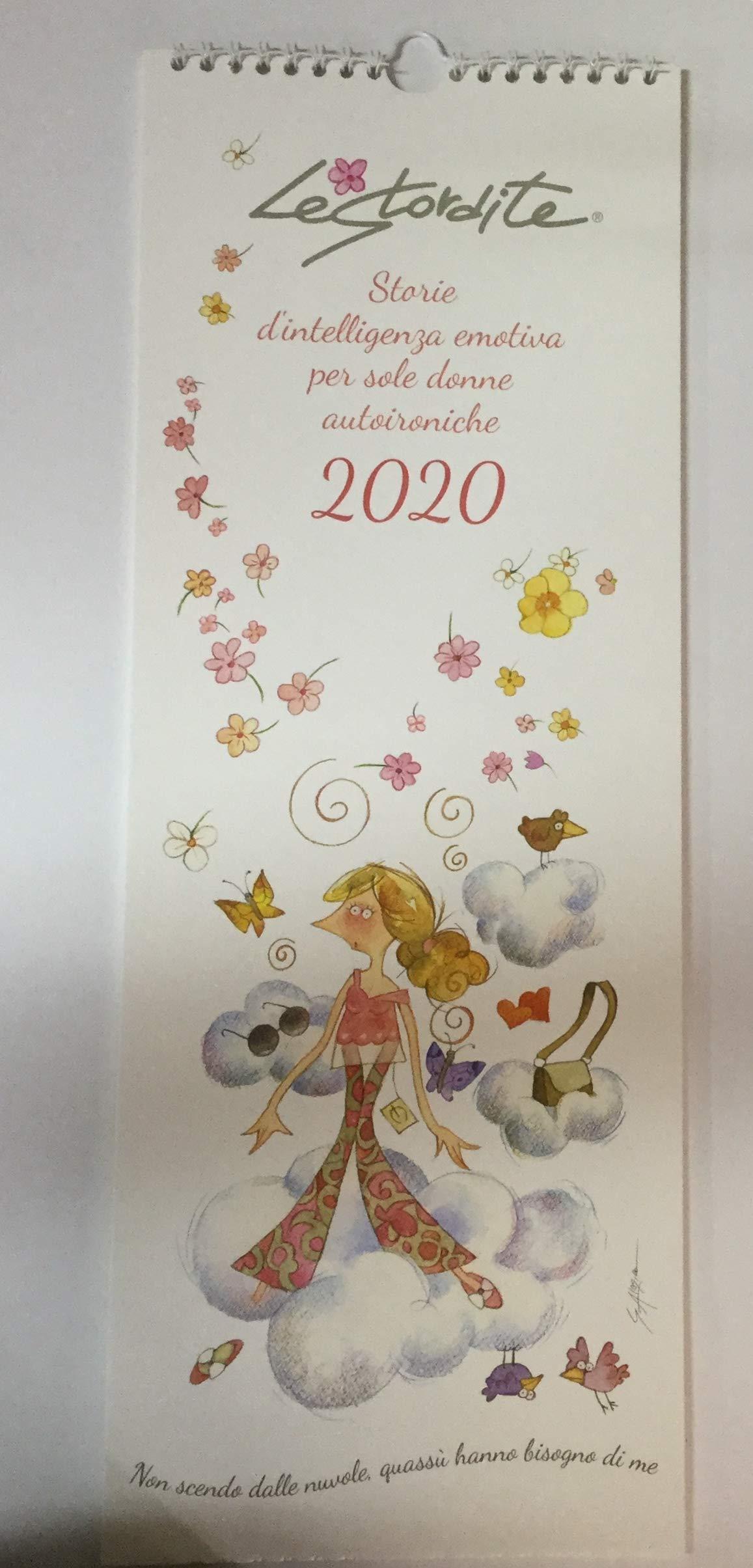 Goccioline Calendario.Calendario Le Stordite 2020 45x16 5 Cm Agenda Perfetta