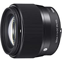 Sigma 56mm f/1.4 DC DN Contemporary Lens for E-Mount Cameras (Black)