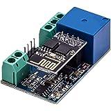 AZDelivery ESP8266-01S ESP-01 Modulo Wlan WiFi 5V con Adaptador de Rele compatible con Arduino con E-Book incluido!
