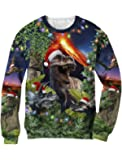 Green Turtle T-Shirts Pull Noël Design Christmas Jumper 3D
