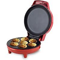BEPER 90.498 Machine à Cupcakes pour Faire des Madeleines, 1000 W, Rouge