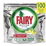 Fairy Platinum - Vaatwassertabs All-In-One 100 capsules citroen citroen vaatwasser tabs