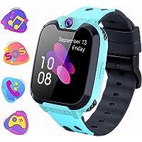 Children Smartwatch, Child Watch Telephone with Two Way Conversation MP3 Camera Calculator Recorder ...