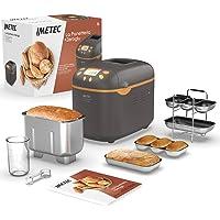 Imetec La Panetteria +Zeroglu, Gerät für Brot, Ciabattas, Brötchen und Kuchen mit natürlichen und glutenfreien…