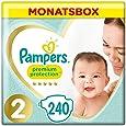 Pampers Premium Protection Windeln, Gr. 2, 4kg-8kg, Monatsbox (1 x 240 Windeln)
