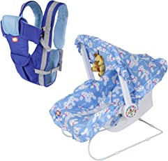 Dash Multifunctional Baby Carrier (Blue) - 9 in 1