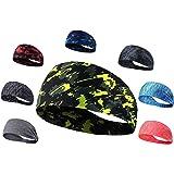 Srxes Headband for Men, Headbands for Women, Yoga Bands for Women, Sport Headband for Men, Yoga Headband for Men, Tennis…