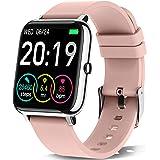 Motast Smartwatch Donna Orologio Fitness Smart Watch Contapassi 1,4 Pollici Cardiofrequenzimetro Smartband Sportivo Activity