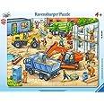 Ravensburger - 06120 4 - Puzzle - Les Gros Véhicules