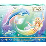 Animal Style - Cahier créatif Sirènes et Dauphins