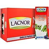 Lacnor Essentials Milk Full Cream - Pack of 32 Pieces (32 x 180 ml = 5.76 Liter)