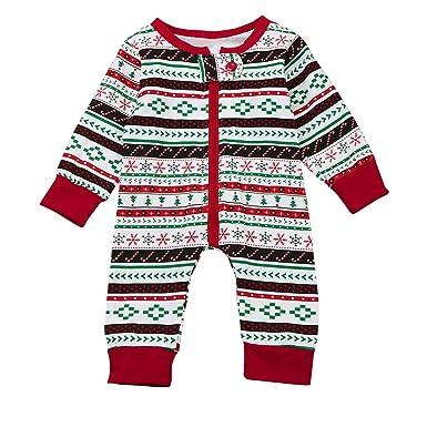 Puseky Toddler and Infant Baby Matching Christmas Pyjamas Set ...