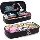 Yuantaicuifeng Estuche de Cuero Impermeable para lápices Cute_Lankybox Cajas de lápices para niñas, niños, Bolsa de lápices,